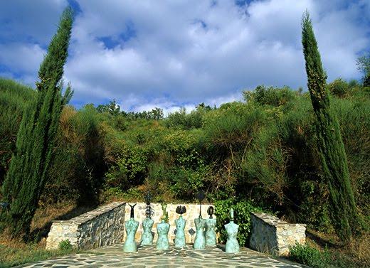 Il Giardino di Statue di Daniel Spoerri