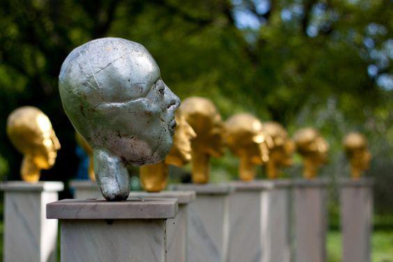 Il Giardino Di Statue A Seggiano
