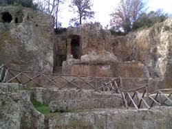 Gli Etruschi…… Sovana E La Tomba Ildebranda.