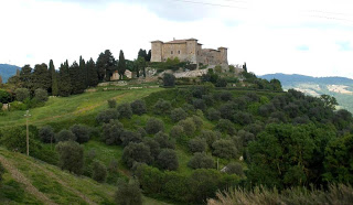 Una Cartolina Dalla Toscana…….. Il Castello Di Montepo'