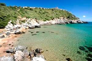spiaggia lunga porto ercole