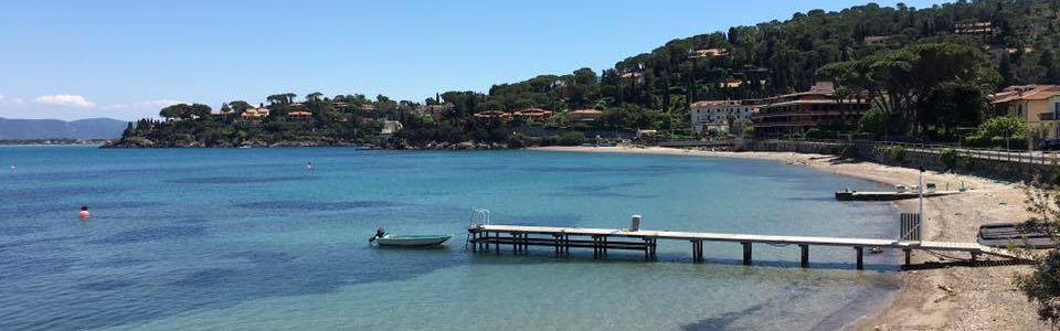 Argentario Beaches. Porto Santo Stefano And The Beaches Of The Northern Coast Of Silver.