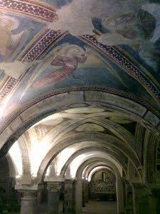 Le volte della chiesa di San Pietro