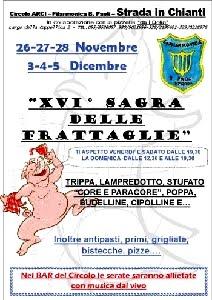 Sagra Delle Frattaglie. Strada In Chianti. Firenze. Dal 3 Al 5 Dicembre 2010