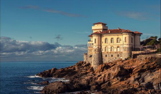 Storia E Mare A Livorno: Il Castello Del Boccale