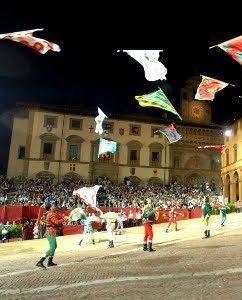 La Giostra Del Saracino Ad Arezzo. Antiche Tradizioni Che Emozionano