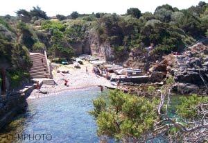 Giannutri. Cala Maestra… Al Mare Sulla Spiaggia Degli Antichi Romani