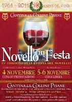 Vino Novello In Festa A Cenaia Di Crespina, Pisa