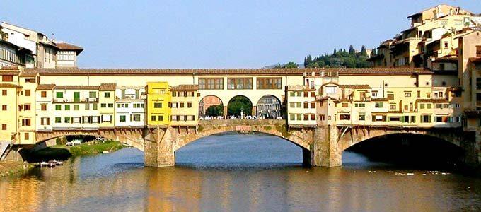 Ponte Vecchio A Firenze. Breve Storia Del Ponte Degli Orafi