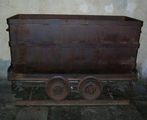 carrello al museo delle miniere