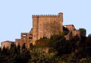 Il Castello Malaspina A Fosdinovo, In Provincia Di Massa Carrara