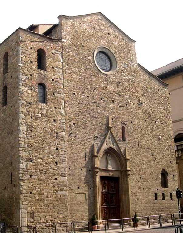 La Chiesa Di Santa Maria Maggiore. Visitare Firenze