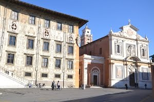 esterno chiesa di santo stefano dei cavalieri