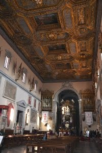 Interno Chiesa Cavalieri