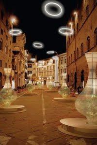 Luminarie Natalizie A Firenze. L'olio Toscano IGP Protagonista In Via Tornabuoni