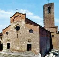 chiesa a san gimignano