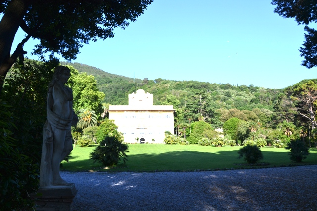 Statue In Villa Corliano