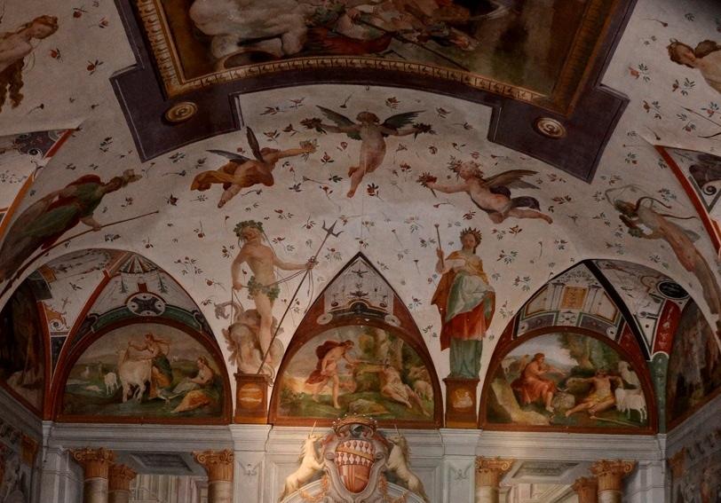 Affreschi In Villa Corliano