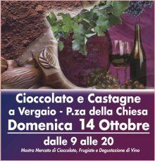 Cioccolato E Castagne, Domenica Autunnale Con Gusto. 14 Ottobre 2012 A Vergaio, Firenze.