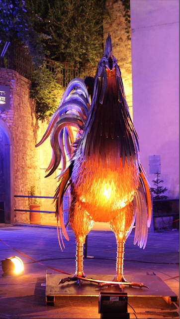 Gaiole In Chianti: 12 Opere D'arte Contemporanea Lungo Le Vie Del Centro Storico Fino Al 31 Ottobre 2012