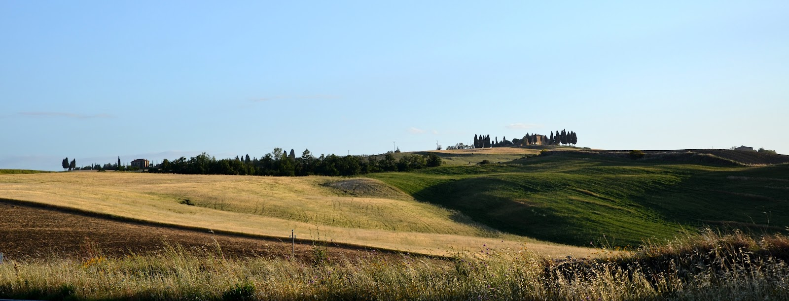 panorama via francigena