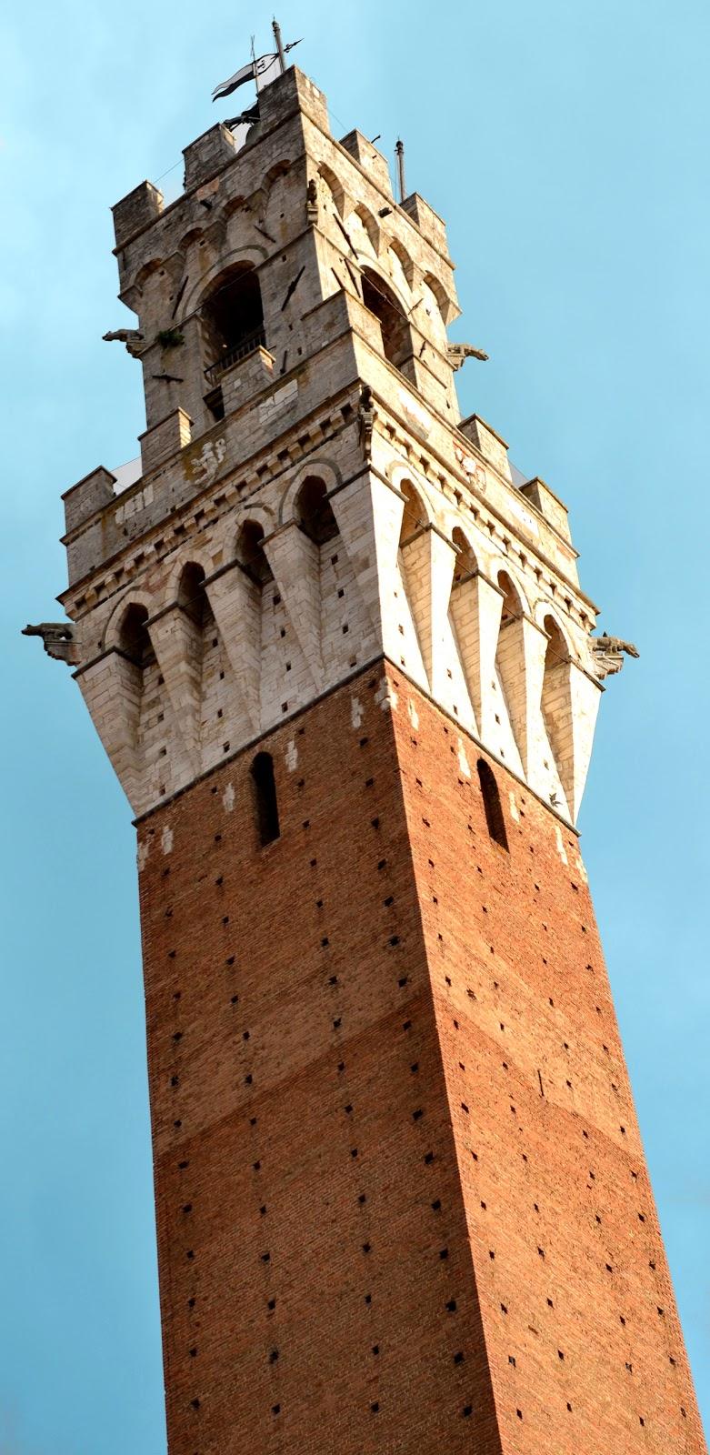 La Torre Del Mangia In Piazza Del Campo A Siena. Storia E Curiosità