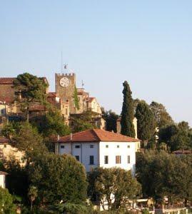 Montecatini Alto, Caratteristico Borgo Medievale Della Valdinievole