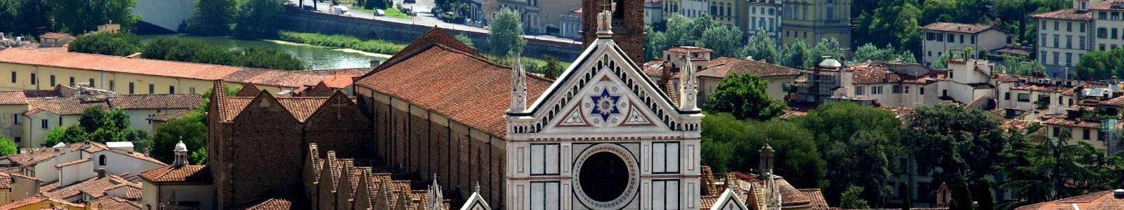 Firenze, Il Quartiere Di Santa Croce.