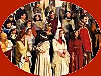 Il Carnevale Medievale Sancascianese. 7 Aprile 2013.