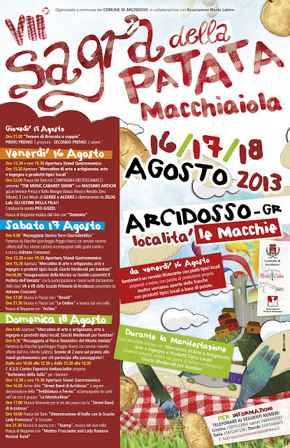 Locandina FESTA PATATA 2013
