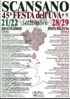 Scansano Festa Dell'uva 2013 Locandina