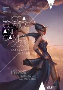 Lucca Comics 2013 è Questione Di Stile. 31 Ottobre – 3 Novembre.