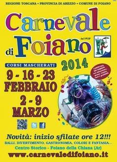 Carnevale Foiano Della Chiana 2014