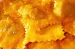Tortelli Ripieni Di Cinta Senese In Crema Di Zucca