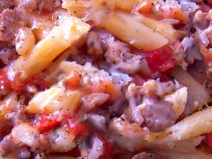 Pennette Con Salsa Di Salsicce Toscane
