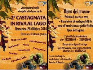 Castagnata In Riva Al Lago Di Pontecosi, In Garfagnana. Domenica 26 Ottobre 2014