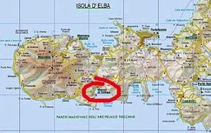 cartina marina di campo