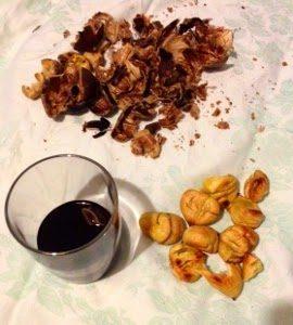 castagne e vino
