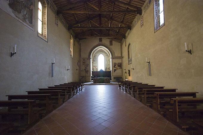 La Chiesa Di San Francesco A Pienza