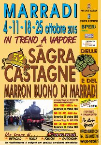 Sagra Delle Castagne A Marradi. Arriviamo Con Il Treno A Vapore!