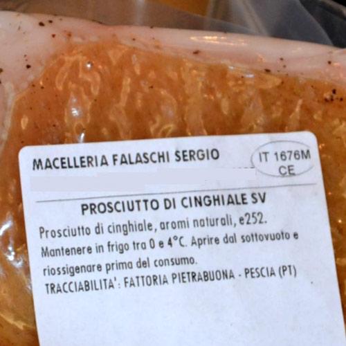 Vivere La Toscana Prosciutto Cinghiale007