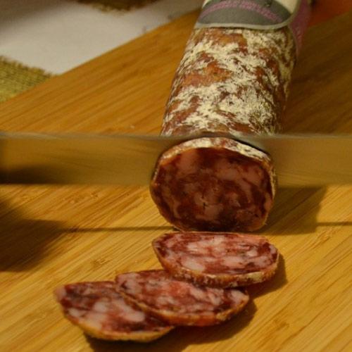Vivere La Toscana Salame Ai Finocchi San Miniato005