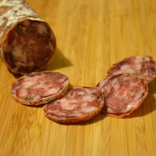 Vivere La Toscana Salame Ai Finocchi San Miniato006