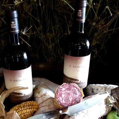 Vivere La Toscana Salame Al Finocchio E Vino001