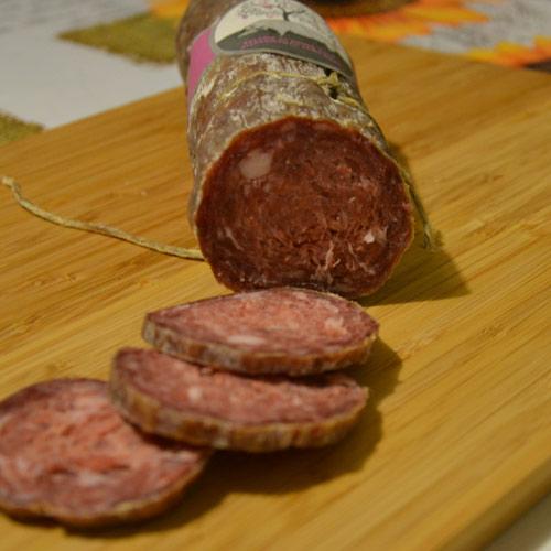Vivere La Toscana Salame Al Vino004