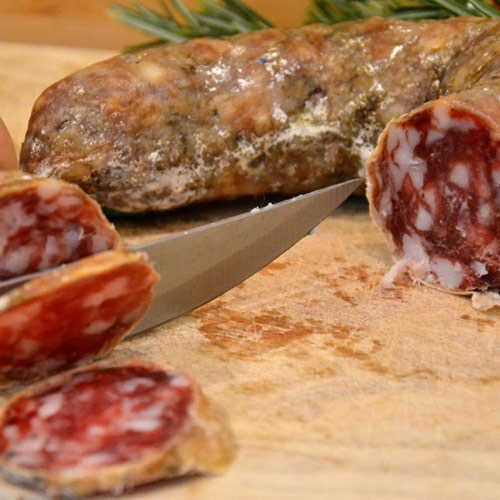 Vivere La Toscana Salame Macchiaiolo005