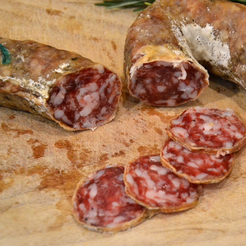 Vivere La Toscana Salame Macchiaiolo006