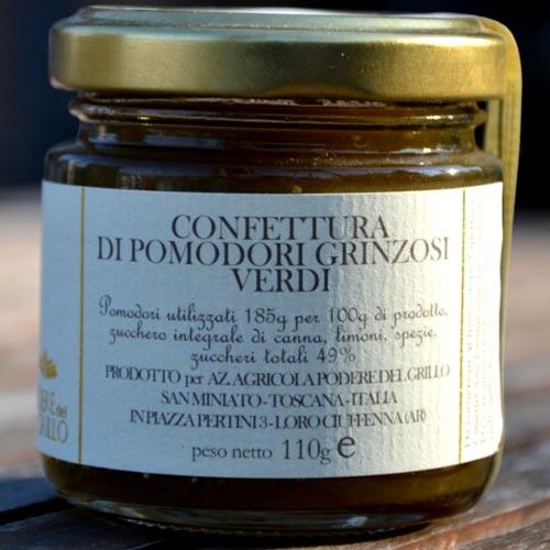 Confettura Pomodori Verdi