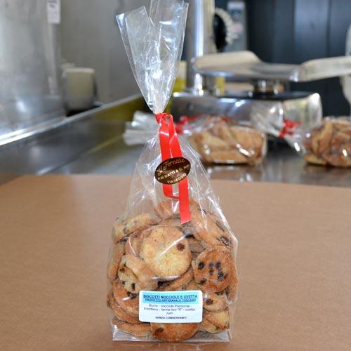Biscotti Nocciole Uvetta