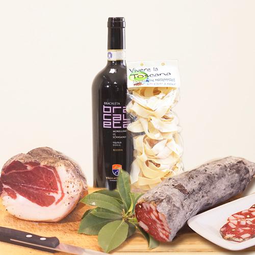 Vivere La Toscana Pacco Regalo Gran Gourmet